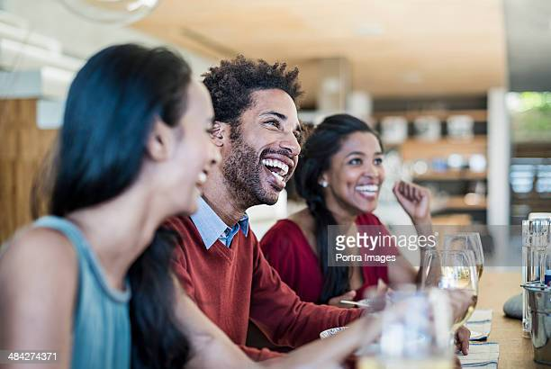 friends having a laugh - party social event stock pictures, royalty-free photos & images