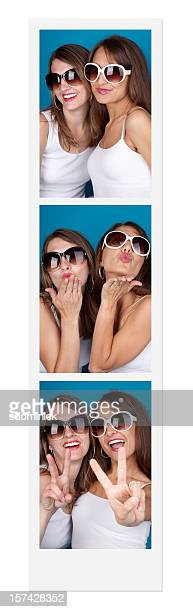Friends In A Photo Booth