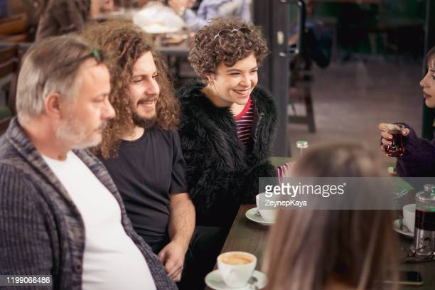 friends in pub - eskisehir stock pictures, royalty-free photos & images