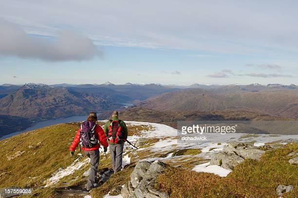 Freunde in die Berge