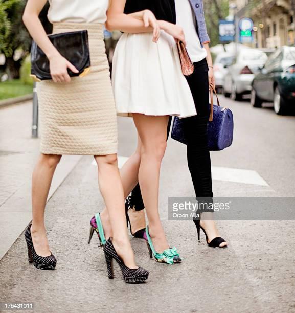 Friends in the street