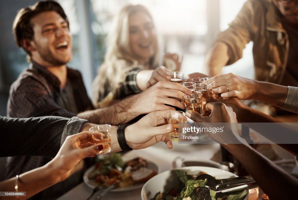 Friends know how to have fun : Stock Photo