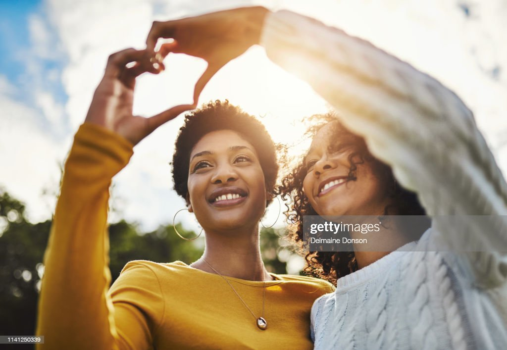 Friends? More like family! : Stock Photo