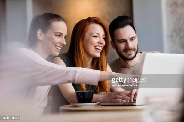 Friends networking
