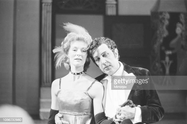 Friends of Covent Garden Christmas evening rehearsal Royal Opera House London Sunday 17th December 1967 picture shows Ballerina Moira Shearer comes...