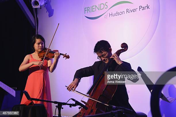 Friends of Hudson River Park Sweet 16 Gala at Pier 26 at Hudson River Park on October 16 2014 in New York City