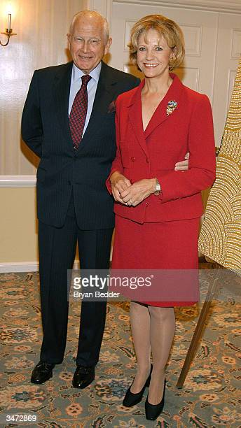 Friends of NIDA in America Chair Anna MurdochMann and her husband William Mann attend the friends of NIDA in America debut event April 27 2004 in New...