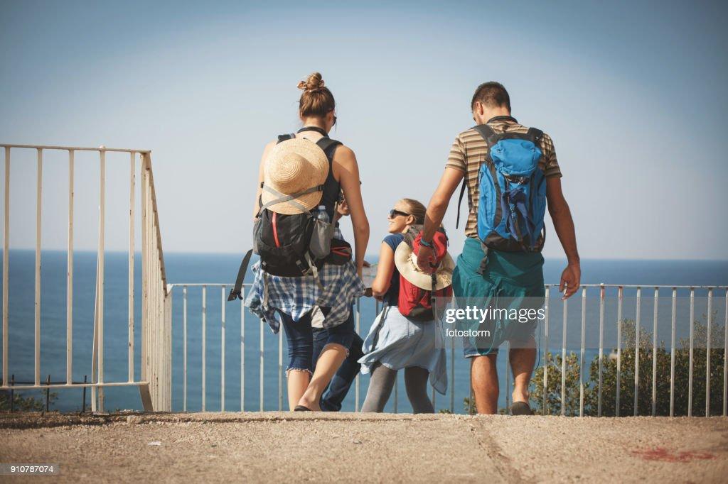 Friends on a journey : Stock Photo