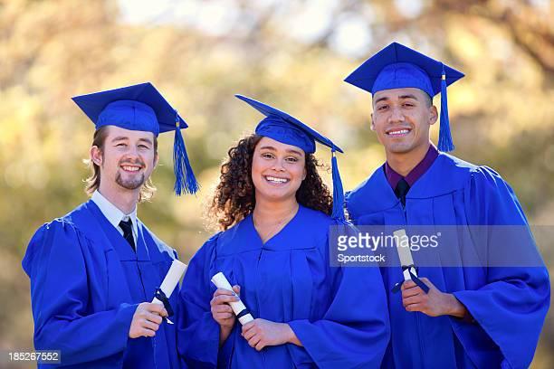 Friends on Graduation Day