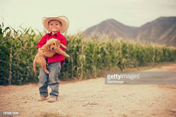 Freunde auf der Farm