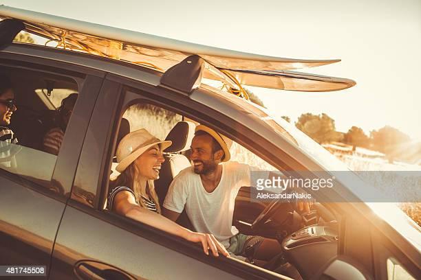 Amis sur la route