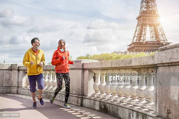 Friends out for a run