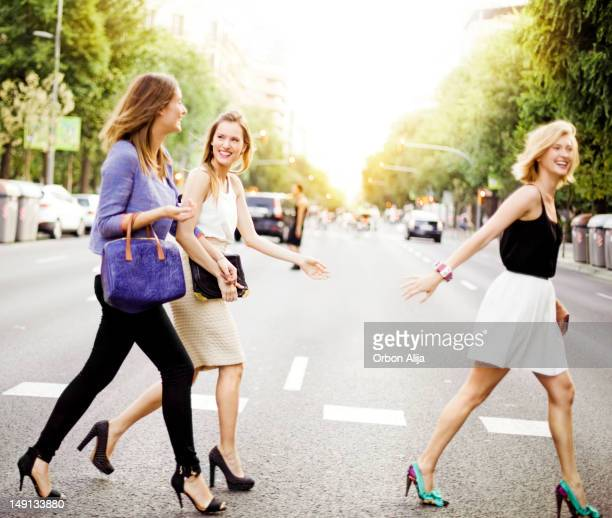 friends - handbag stock pictures, royalty-free photos & images