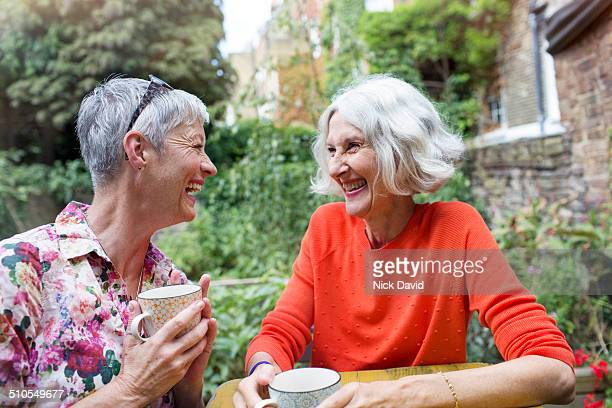 friends spending time together - mature women stock pictures, royalty-free photos & images