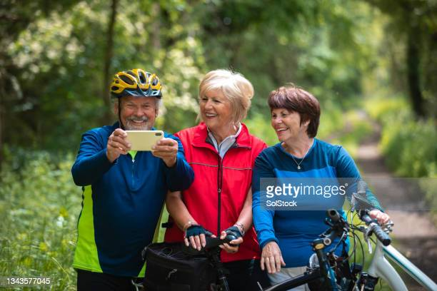 friends taking a selfie - morpeth stock pictures, royalty-free photos & images