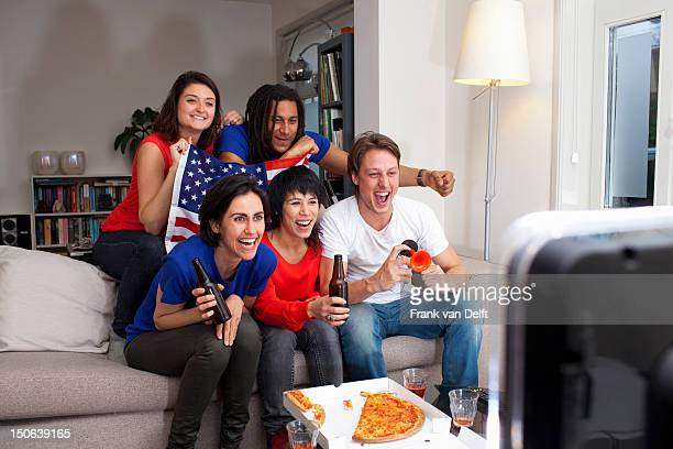 Freunde Sportübertragungen im Fernsehen