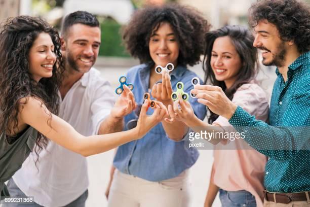 Amis avec fileurs