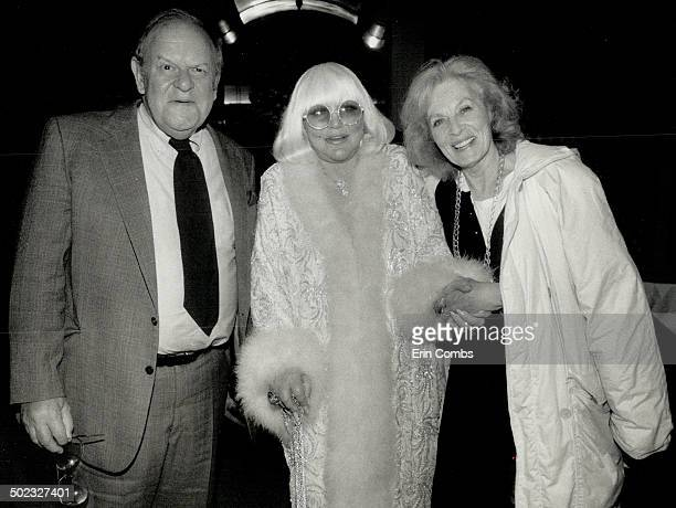 Friendship Actors Jack Weston and Viveca Lindfors were greeted by Peggy Lee at a small party in the singer's honor at the Imperial Room Wednesday...