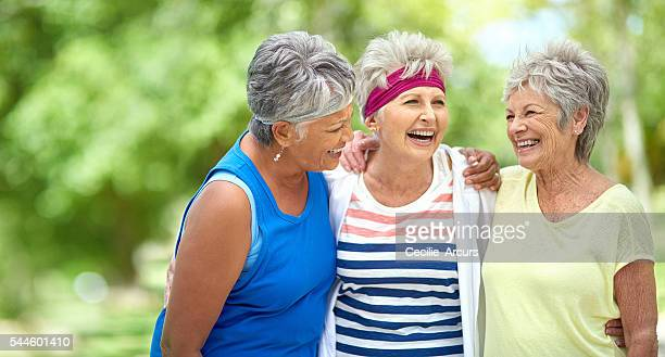 Friendship and fitness keep the heart young