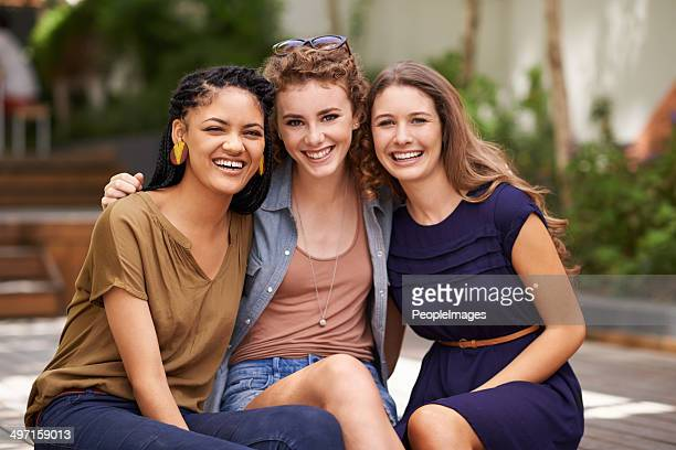 friendship means everything to us - only young women stock pictures, royalty-free photos & images