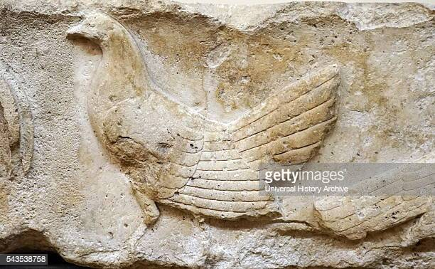 Frieze from Xanthos depicting wild fowl which may have been sacrificial offerings to the deceased Dated 470 BC