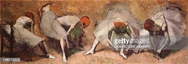 Frieze with four dancers by Edgar Degas Cleveland The Cleveland Museum Of Art