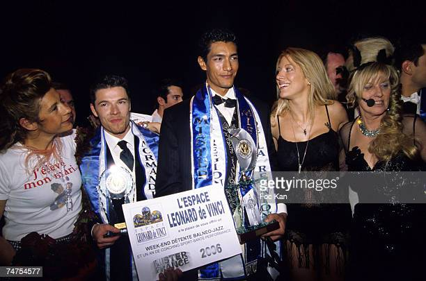 Frigide Barjot Michael Dodier Mr Normandie 1rst Dauphin William Bege Mr Ile de La Reunion Awarded as Mister France 2006 Loana and Chantal Ladesou...