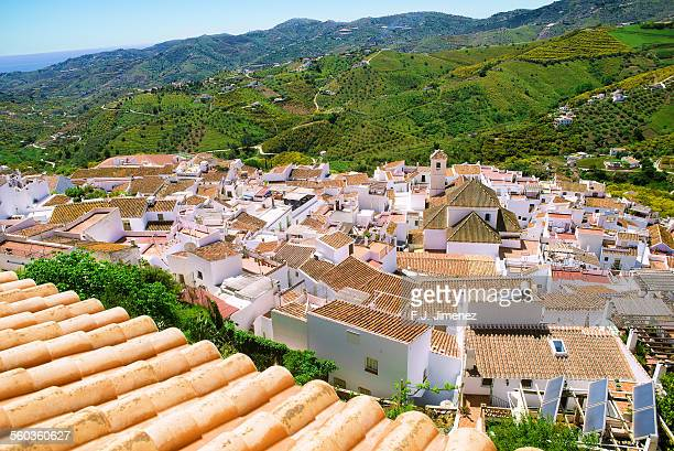 Frigiliana in Andalucia, Spain