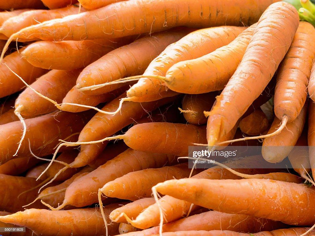 Frische Karotten : News Photo