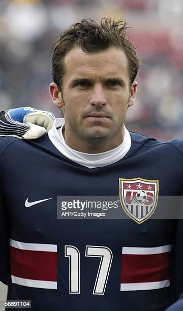 US soccer player Chris Klein poses at Pizza Hut Park in Frisco Texas on 19 February 2006 AFP PHOTO Jason/KINDIG