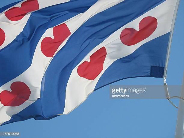 frisian flag - friesland noord holland stockfoto's en -beelden