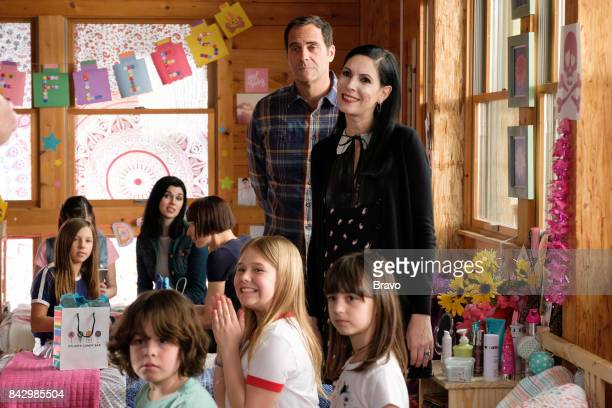 OUT 'Frisky Business' Episode 301 Pictured Andy Buckley as Andy Jill Kargman as Jill