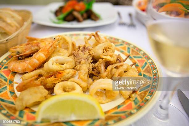 fritture-fried fish-, Puglia, Italy