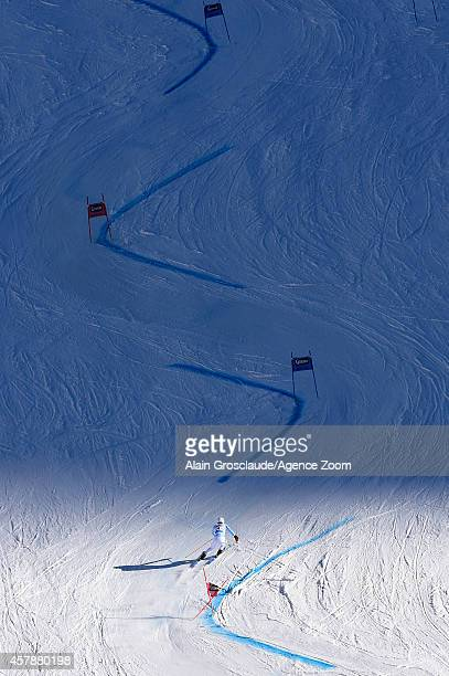 Fritz Dopfer of Germany competes during the Audi FIS Alpine Ski World Cup Men's Giant Slalom on October 26 2014 in Soelden Austria