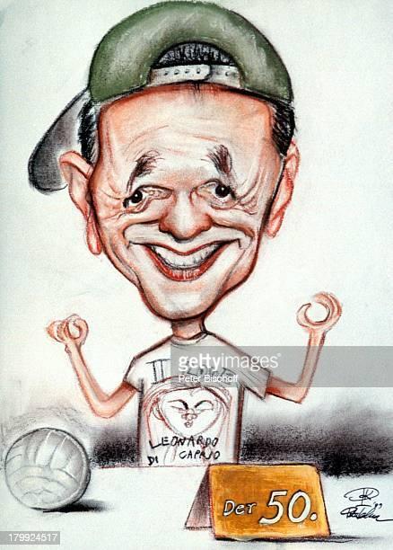 Fritz Egner, Karikatur, 50. Geburtstag,