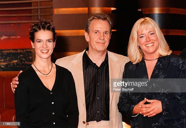 """Fritz Egner, Katarina Witt , Britta;von Lojewski , """"Vorsicht;Kamera""""-SAT.1-Show,"""