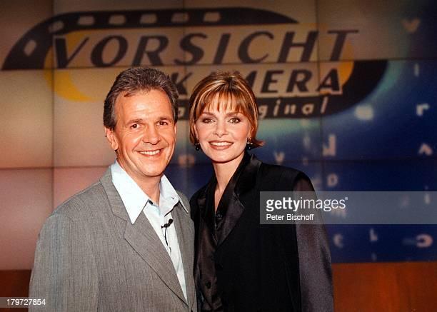 """Fritz Egner, Maren Gilzer, SAT.1-Show;""""Vorsicht Kamera Spezial"""","""