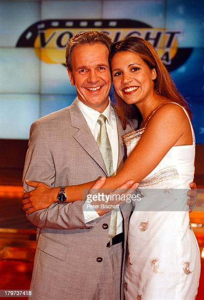 Fritz Egner mit Karen Webb SAT 1 Show Vorsicht Kamera