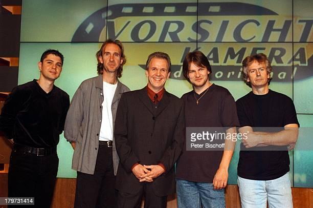 "Fritz Egner, Rock-Gruppe ""Genesis"" ,;SAT.1-Show ""Vorsicht Kamera- Das Original"","