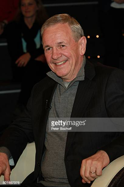 "Fritz Egner, ZDF-Talkshow ""Markus Lanz"", Hamburg-Bahrenfeld, Deutschland, Europa, Studio, Talk-Show, Moderator, Promi BB, CD; P.-Nr.: 030/2014, ;"