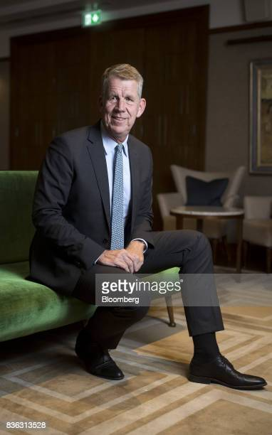 Fritz Joussen, chief executive officer of TUI AG, sits for a photograph following an interview in London, U.K., on Monday, Aug. 21, 2017. Tunisia is...