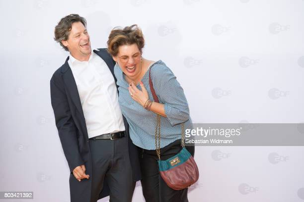 Fritz Karl and Elena Uhlig attend the ZDF reception during the Munich Film Festival at Hugo's on June 27 2017 in Munich Germany
