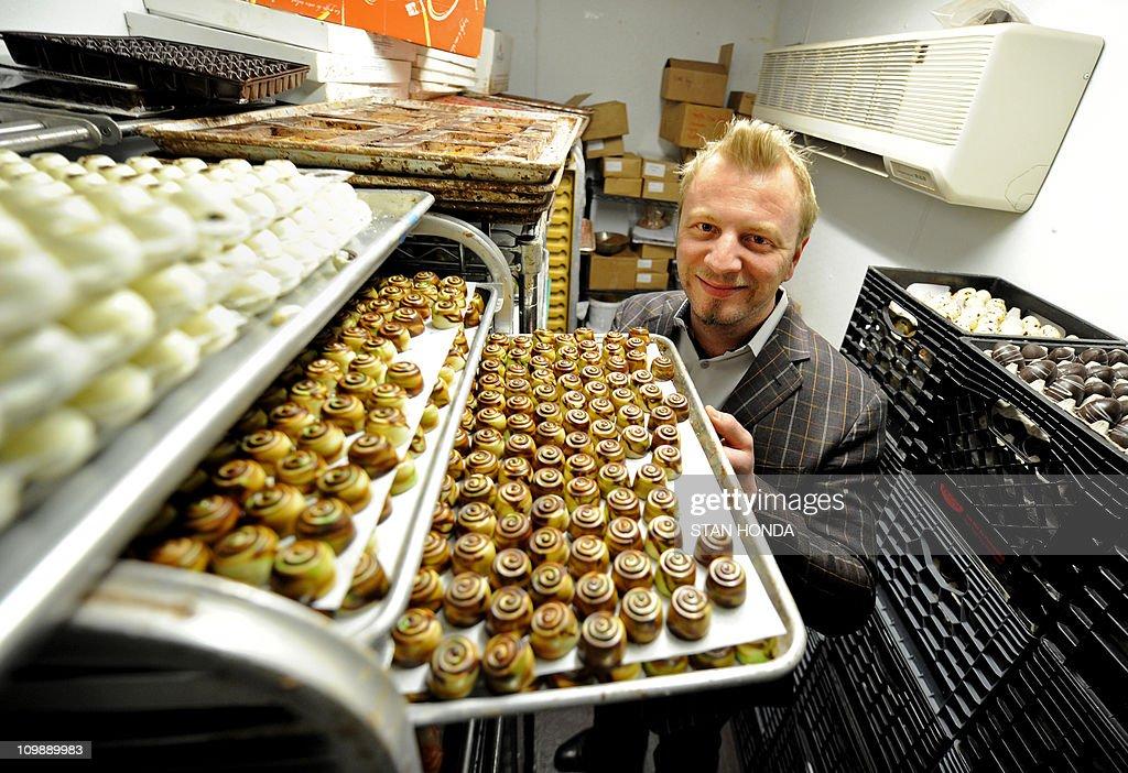 Fritz Knipschildt, owner of Knipschildt : News Photo