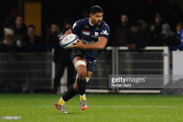 Fritz LEE of Clermont during the European Rugby Champions Cup Pool 3 match between ASM Clermont Auvergne and Harlequin FC on November 16 2019 in...