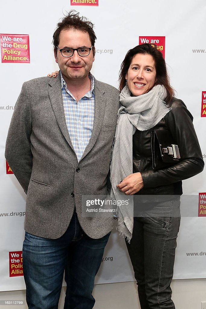 Fritz Michel and Lee Michel attend the 2013 re:FORM Art Benefit at C24 Gallery on March 4, 2013 in New York City.