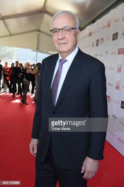 Fritz Pleitgen attends the 'Goldene Sonne 2018' Award by SonnenklarTV on April 7 2018 in Kalkar Germany