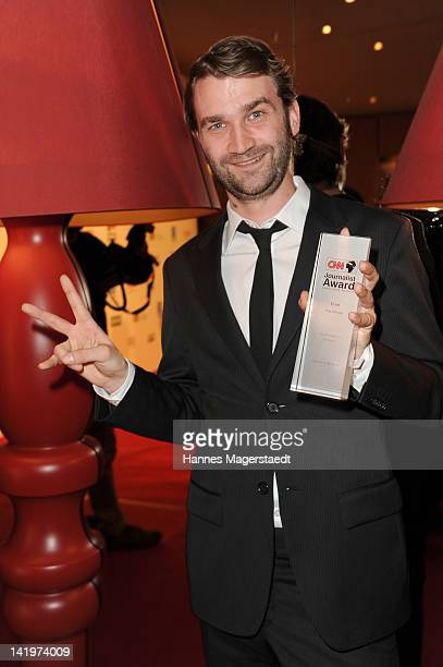 Fritz Schaap attends the CNN Journalist Award 2012 at the GOP Variete Theater on March 27, 2012 in Munich, Germany.