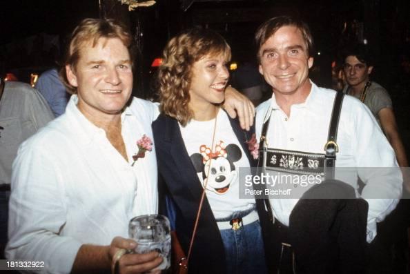 Fritz Wepper , Elmar Wepper und Freundin Simone Werner ...