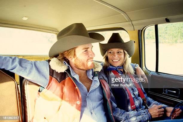 Fritz Wepper Freundin Prinzessin Angela von Hohenzollern Kanada Amerika Auto Cowboyhut Schauspieler