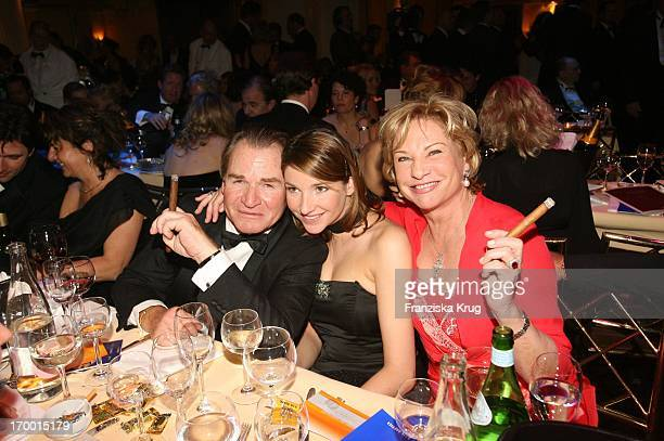 Fritz Wepper with wife Angela and daughter Sophie at Party After The German Film Ball in the Hotel Bayerischer Hof in Munich